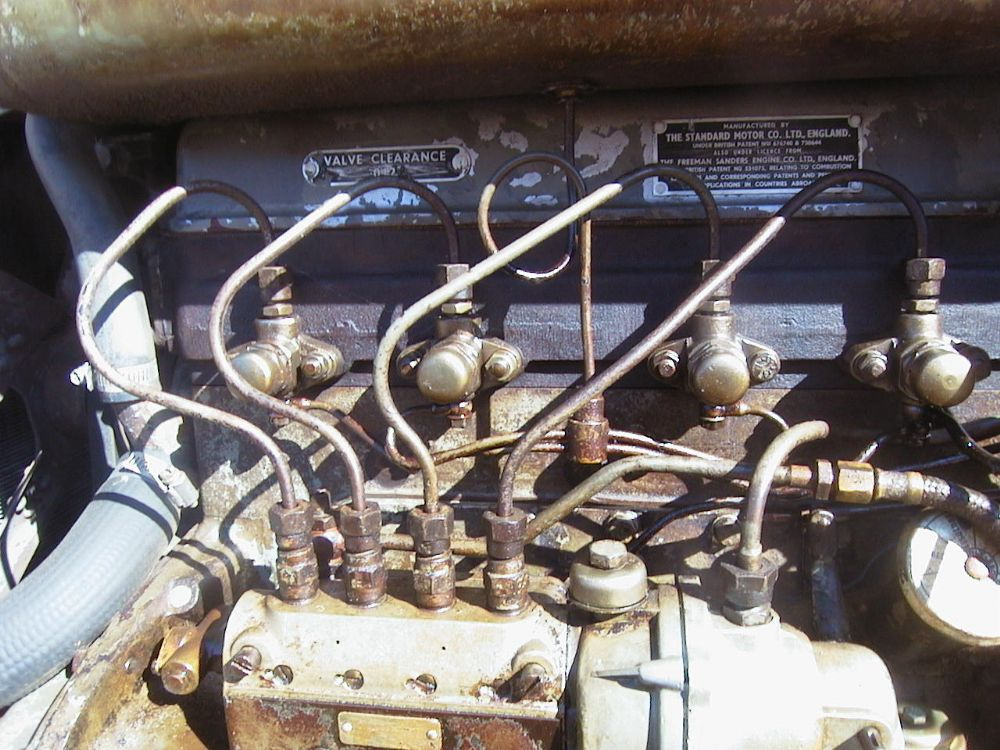 Ferguson Tef Number Fuel Injector Pipe P Ekm X Ekm on Ford Model A Electrical System